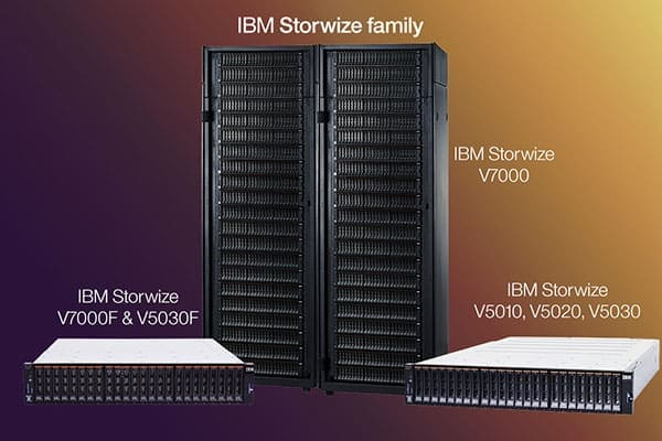 Sale, spare parts and technical support for IBM storage systems, SiXe Ingeniería